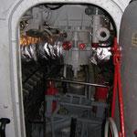 Portello prodiero di accesso al locale motori termici
