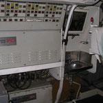 Quadro di comando dei tutbi lanciasiluri e l'unico lavandino di bordo