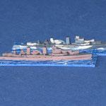 HMS Aurora (in Mountbatten pink), HMS Penelope