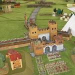 Battaglia alle porte di Roma circa 550 dC