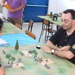 Cisotto: Praticamente adesso ho vinto la partita! - In realtà non è vero stà vincendo Gasbarri.