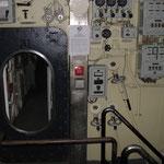 Portello di accesso alla camera di lancio (visto dall'interno della camera)