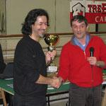 1° classificato: l'Uomo Nero Marco Gasbarri