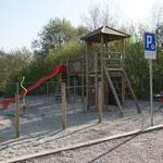 Spielplatz beim Kindergarten