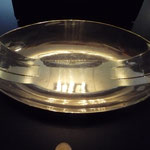 Plated silver Art Deco serving dish