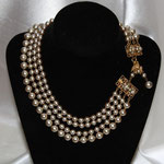 MIRIAM HASKELL, Perlenkette, 4 Strang