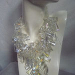 Crystals, large and heavy. This was a favourite of Joan Rivers.... €1400
