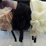 Haarreif, schmal, nude, schwarz und elfenbein, €38