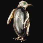 REJA, Jellybelly, Pinguinbrosche, USA 40er Jahre