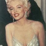 Marilyn Monroe wearing Joseff of Hollywood