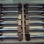 Palisander wood and chrome