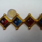 LAGERFELD vintage brooch, signed KL   €420