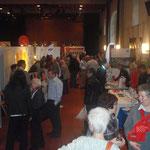 Interessante Gespräche an den Ständen der Seniorenmesse 55+ im Landhaus in Solothurn