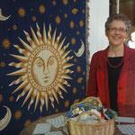 Lydia Rösti- Mateos mit AstroSenda an der Seniorenmesse 55+