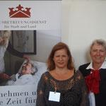 Frau Aeschlimann vom Hausbetreuungsdienst für Stadt & Land