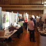 Interessierte Besucher erhielten viel Informationen rund ums älter werden an der Seniorenmesse 55+ 2013