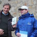 Verleihung der Schwalbenplakette an Lorenz von Schintling- Horny in der Domäne Liebenburg 2016 (Foto: NABU/ S. Schiedewitz)