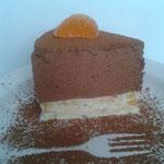 """Торт-десерт (кусочек) """"Шоколадно-банановый"""""""