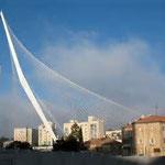 Pont de cordes, Jérusalem