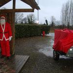 le Pére Noël se prépare