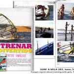 SURF A VELA, SPAIN 2013