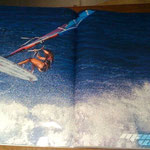 DOUBLE PAGE, SURF A VELA, SPAIN, 2012