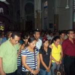 MISA DE ACCION DE GRACIAS DE ANIVERSARIO ESCUELA 24/06/2012
