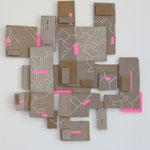 z.t. 2016 50x52 cm karton, draad en papier