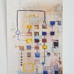 z.t. 2014 25 x 15 cm tekening met acryl inkt, ecoline en stift