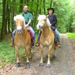 Auf Tagesritt rund um Wöschbach