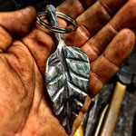 Leaf Key Fob