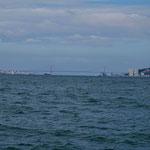 Hafeneinfahrt Lissabon