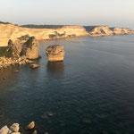 Steilküste bei Bonifacio