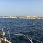 Approaching Bonifacio
