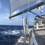 Schnelle Überfahrt zu den Kapverden