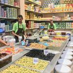 Einkaufen im Bazar von Tunis...