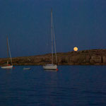 At anchor in Favignana