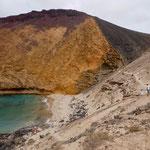Hiking the yellow volcano...