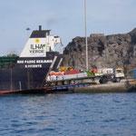 Fogo: Kleiner Hafen, viel los!