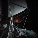 Erste Nachtfahrt