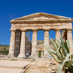 Greek temple in Segesta