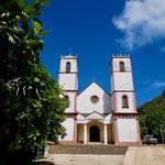 Rikitea church seats 1200 people!