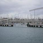 Marinaeinfahrt Barcelona