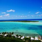 Maupiti village anchorage