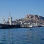 Hafeneinfahrt Alicante