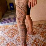 ...his many tattoos