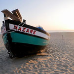 Das bei Surfern berühmte Nazaré