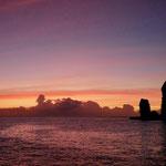 Sunset in Ua Pou