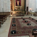 Meditationsraum in Kathedrale