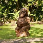 Tiki, humanoid figure